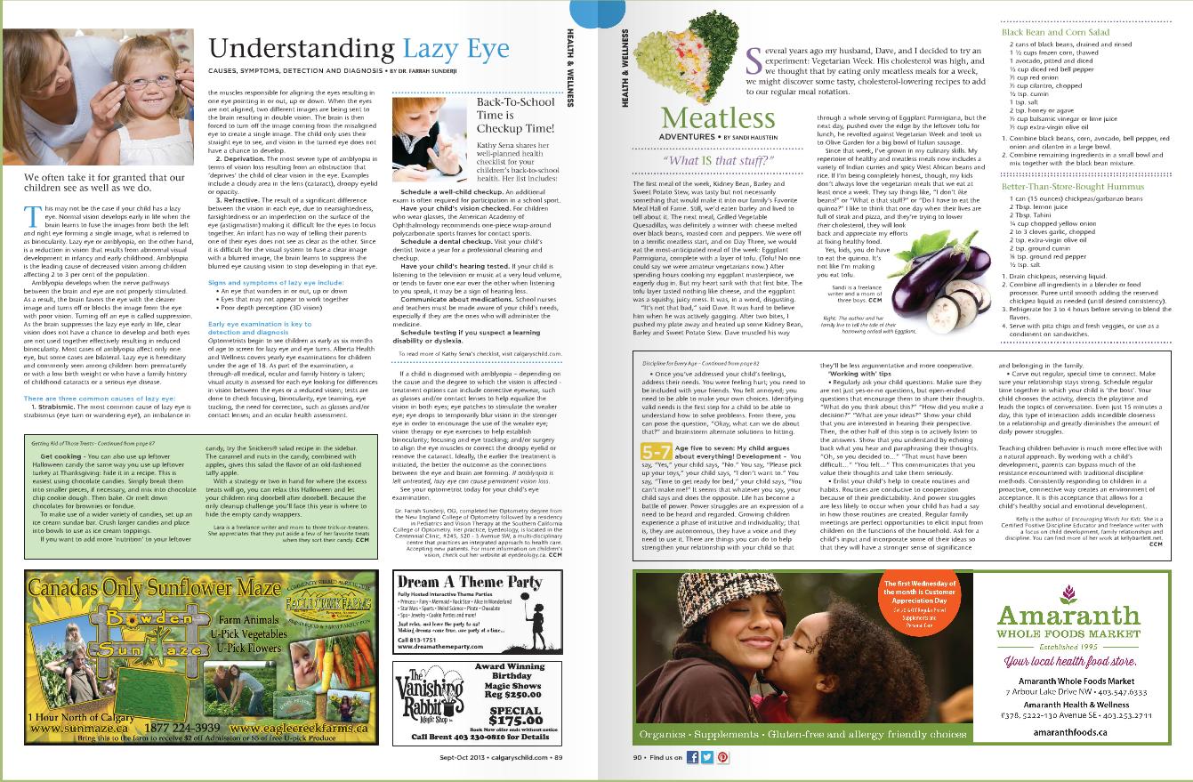 Calgarys Child Magazine 2013 Sept Oct