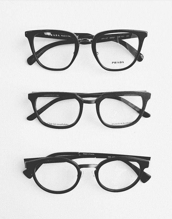 Little Black Glasses